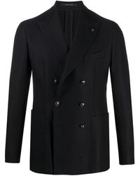 Tagliatore Double-breasted Jacket - Blue