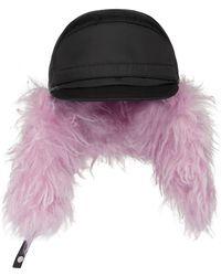 Prada Nylon Baseball Cap - Black