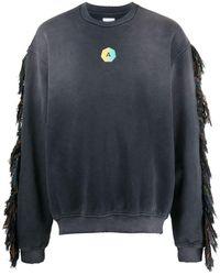 Alchemist Tassel-detail Sweatshirt - Black