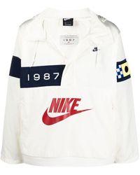 Nike Reissue Walliwaw Woven Windbreaker - White