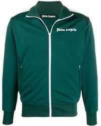 Palm Angels Logo-print Track Jacket - Green