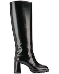 Prada Knee-length Boots - Black