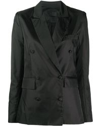 RTA Double-breasted Tailored Blazer - Black