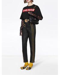 Gucci Linea Marina Small Shoulder Bag - Black