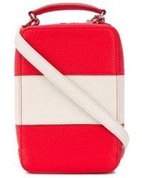 Sonia Rykiel Pavé Parisien Crossbody Bag - Red