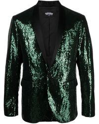 DSquared² Sequin-embellished Dinner Jacket - Green