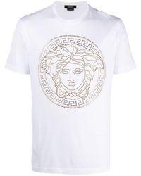 Versace - Medusa-print T-shirt - Lyst