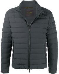 Moorer Ray-kn Padded Jacket - Gray