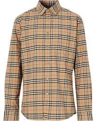 Burberry Small Scale Check Shirt - Multicolour