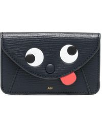 Anya Hindmarch 142793 Leather Wallet - Black