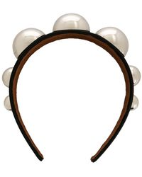 Christopher Kane Dome Headband - Black