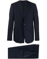 Gucci Slim-fit Mohair Suit - Blue