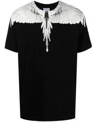 Marcelo Burlon White Wings T-shirt - Black