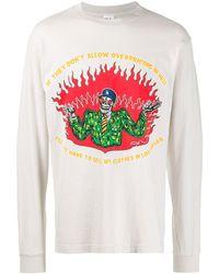 Warren Lotas Overpricing Print Sweatshirt - Multicolour