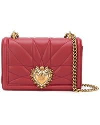 Dolce & Gabbana - Small Devotion Crossbody Bag - Lyst