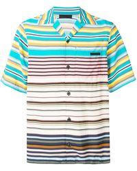 Prada Short-sleeved Pongé Shirt - Green