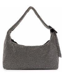 Benedetta Bruzziches Fujiko Mesh Shoulder Bag - Metallic