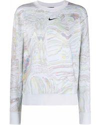 Nike Dance Fleece Sweater - Gray
