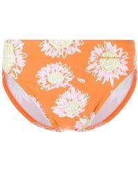 Jacquemus Floral Print Swimming Trunks - Orange