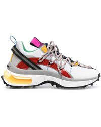 DSquared² - Multi-panel Lace-up Sneakers - Lyst