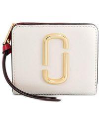 Marc Jacobs Snapshot Mini Compact Wallet - White
