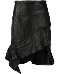 Alexander Wang Asymmetric Hem Skirt - Black