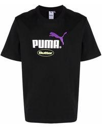 PUMA Butter Goods Logo-print T-shirt - Black