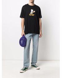 RIPNDIP Ripnstone Logo-print Cotton T-shirt - Black