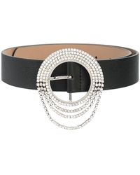 B-Low The Belt Crystal-embellished Belt - Multicolour