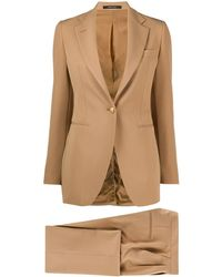 Tagliatore Tailored Two-piece Suit - Natural