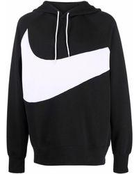 Nike Logo-print Cropped Jacket - Black
