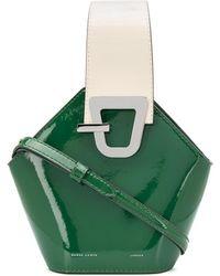 Danse Lente Mini Johnny Bucket Bag - Green