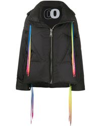 Khrisjoy - Rainbow Drawstrings Puffer Jacket - Lyst