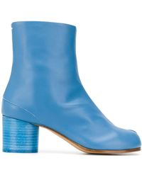 Maison Margiela Tabi 60mm Ankle Boots - Blue
