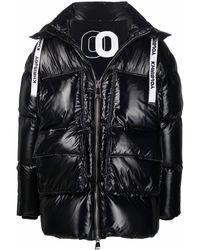 Khrisjoy Oversized Padded Down Coat - Black