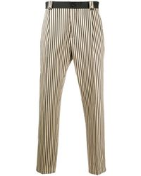 Dolce & Gabbana Striped Cropped Trousers - Multicolour