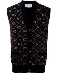 Gucci GG Jumper Vest - Blue