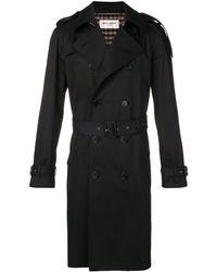 Saint Laurent Classic Trench Coat - Black