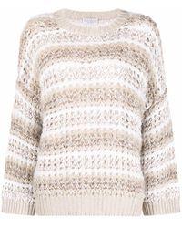 Brunello Cucinelli - Chunky-knit Cashmere Jumper - Lyst