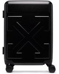 Off-White c/o Virgil Abloh Arrows Trolley Suitcase - Black