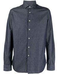 Xacus Classic Cotton Shirt - Blue