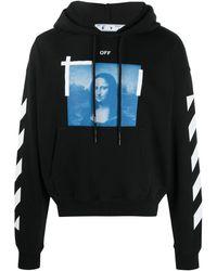 Off-White c/o Virgil Abloh Photograph-print Hooded Sweatshirt - Black
