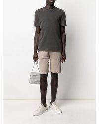 Majestic Filatures Knee-length Elasticated Shorts - Natural