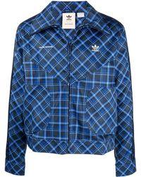 adidas - X Wales Bonner Tartan Jacket - Lyst