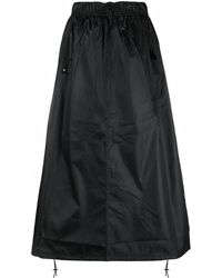 Nike High-rise Drawstring Skirt - Black