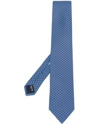 Ferragamo - Logo Print Tie - Lyst