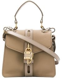 Chloé Small Aby Day Shoulder Bag - Grey