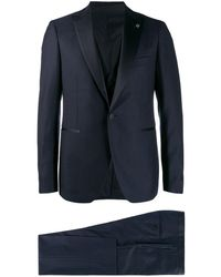 Tagliatore Classic Dinner Suit - Blue
