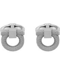 Ferragamo Gancini Cufflinks - Metallic
