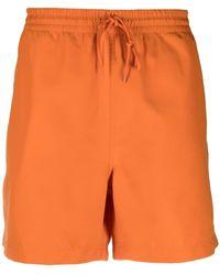 Carhartt WIP Drawstring Swim Shorts - Orange